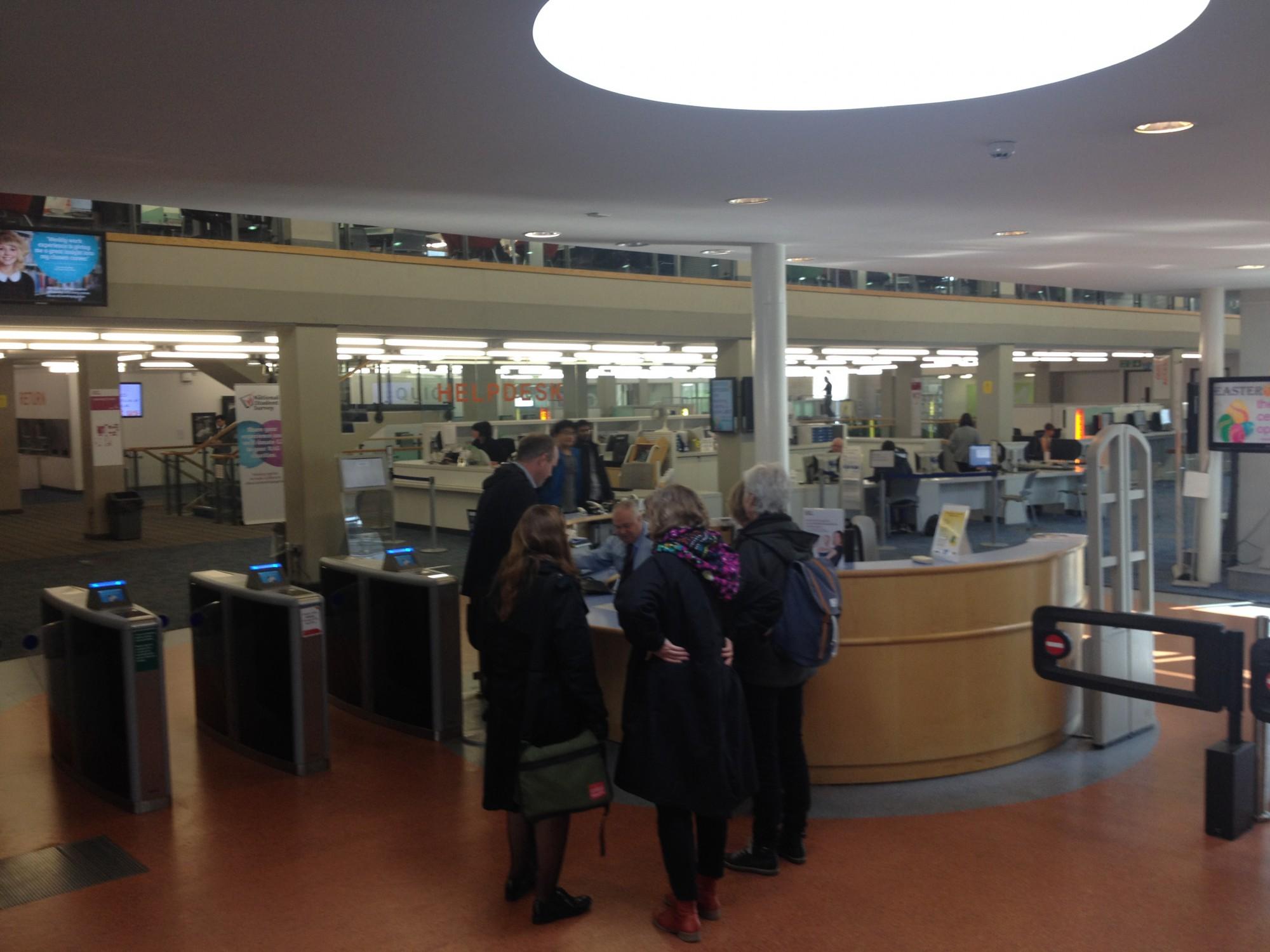Sheffield Hallam University Adsett Learning Resource Centre