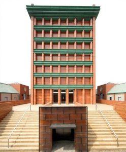 Aldo Rosso, Il Palazzo, Fukuoka Japan (1987)