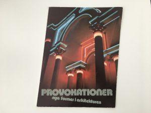 Antologin Provokationer (1982)
